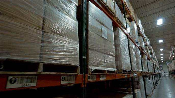 Hospital Braces for Coronavirus Pandemic with Warehouse of Emergency Supplies